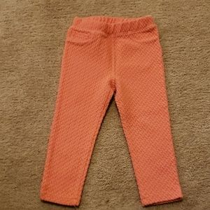Oshkosh coral color 2T pants
